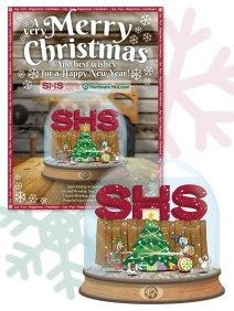 Holiday ad campaign for SHS Inc.