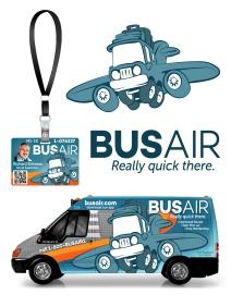 Branding for an Airport Shuttle start-up