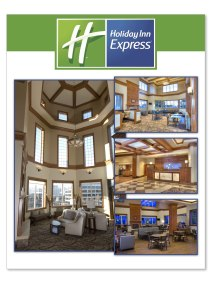 Promotional Convention booth displays for Holiday Inn