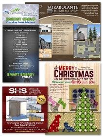 Ad, Flyer, Brochure print designs