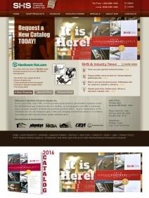 Digital promotion for SHS Inc. catalog